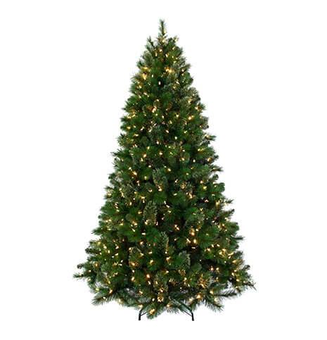 松针树特性:模仿大自然的美,pvc圣诞树是精心手工制作的实现自然常绿.